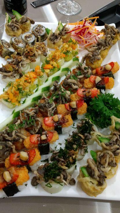 Sushi Vegano Keeki