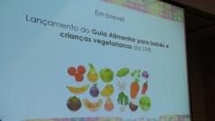 Lançamento do Guia Alimentar para crianças - SVB