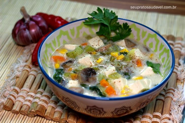 chupe vegano de cogumelos 5