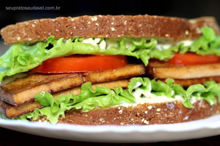 sanduiche vegano BLT 1