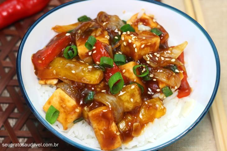 Tofu picante com maracuja 1