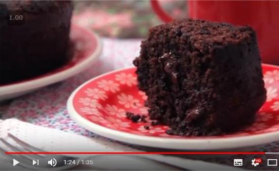 bolo de chocolate e linhaça