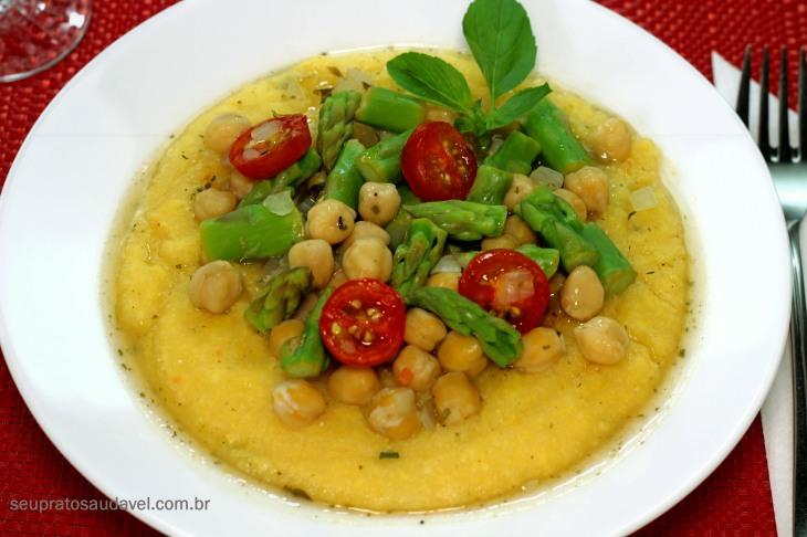 polenta com aspargos 4