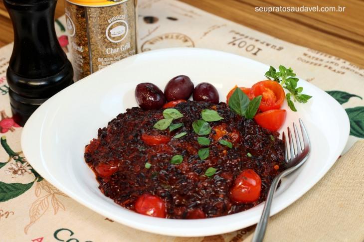 arroz negro com tomate seco 4
