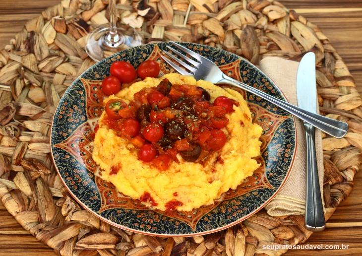 polenta ao tomate seco 2