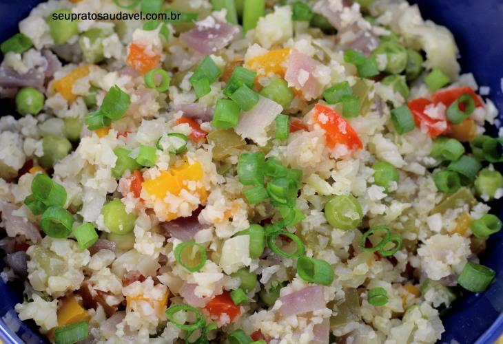 arroz de couve-flor 2