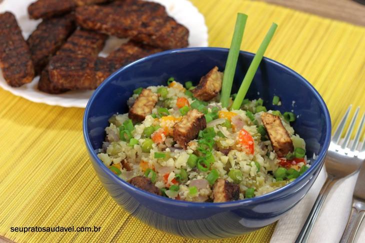 arroz de couve-flor 7